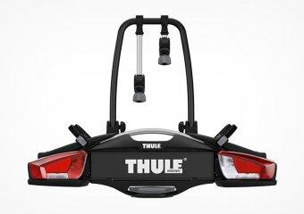 Thule VeloCompact 924: TÜV/GS geprüfter Fahrradträger für die Anhängerkupplung